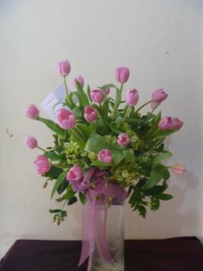 BQ pink tulip 750 rb